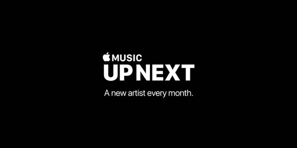 Artistas nuevos cada mes en Apple Music Up Next