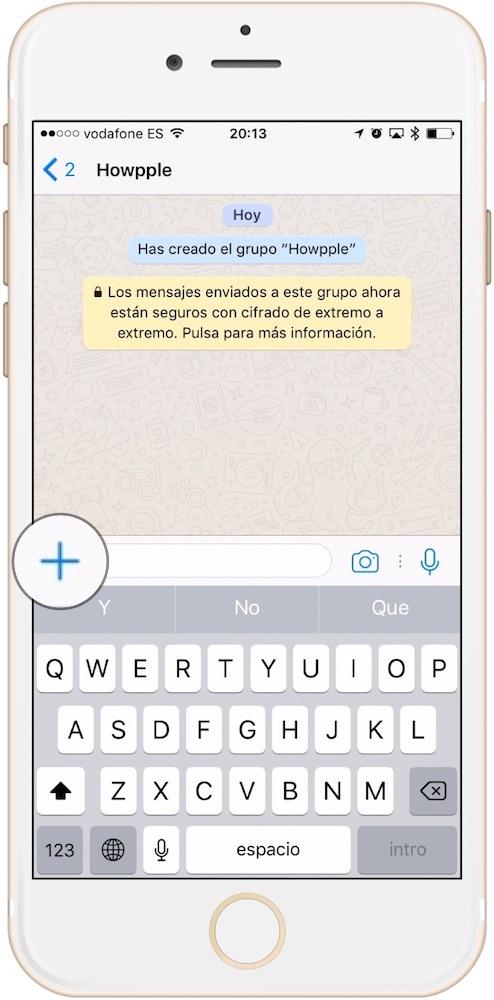 Aprende como mandar un GIF por WhatsApp desde la propia aplicación adjuntando