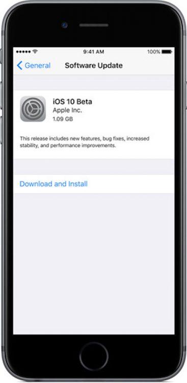 Como descargar la beta publica de iOS 11 actualización