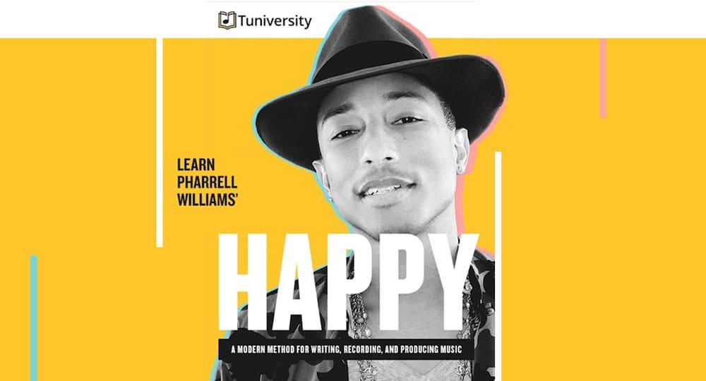 Aprende como Producir música con el iPhone o el iPad Pharrell Williams Happy