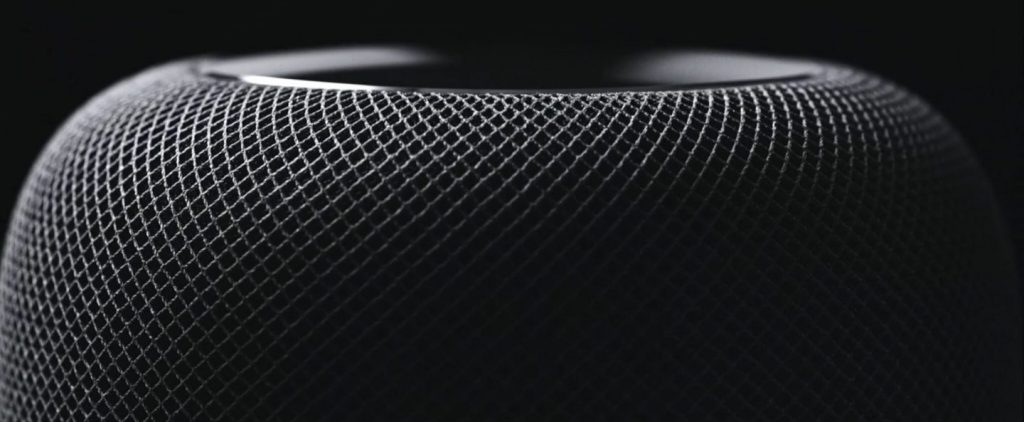 Detalle del Altavoz Apple HomePod