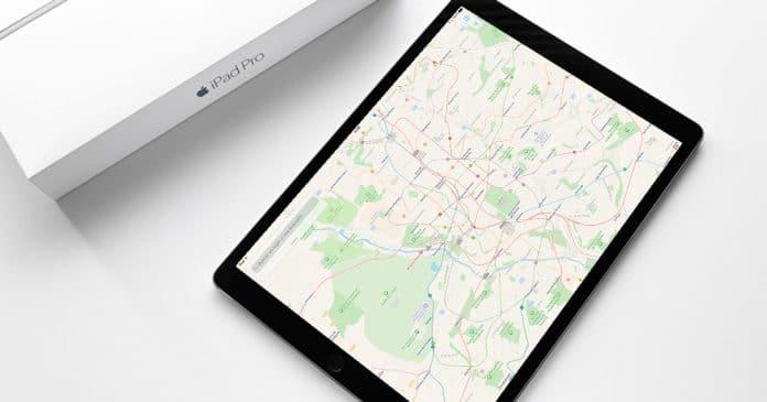 Como usar las transporte público en Mapas de Apple