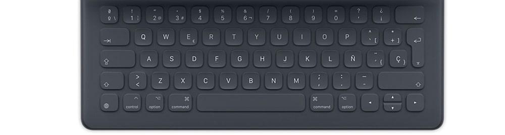 Nuevo Smart Keyboard para iPad pro 2017