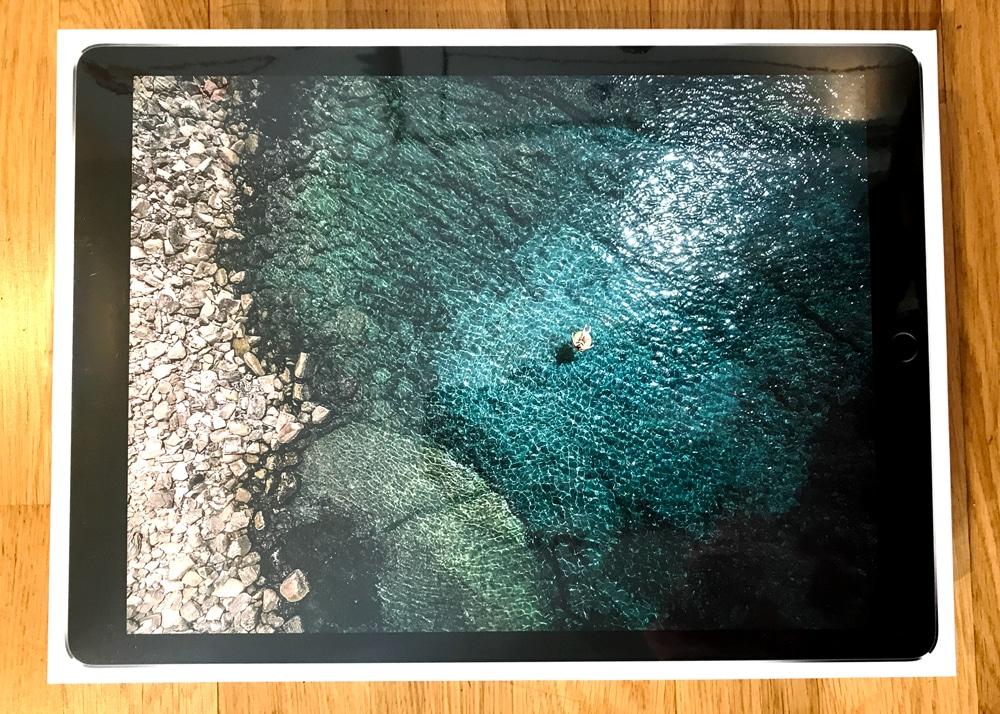 caja iPad Pro 2017 lateral