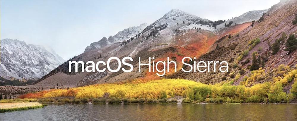 macOS High Sierra anunciado en la WWDC 2017