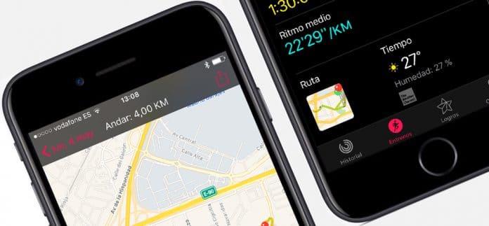 Como ver el mapa delentrenamiento hecho con Apple Watch