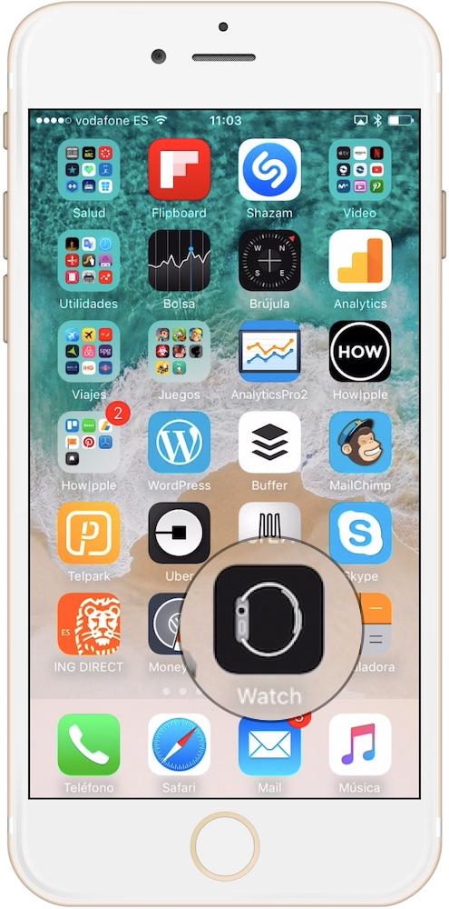 Aprende como restaurar el Apple Watch desde el iPhone aplicación reloj