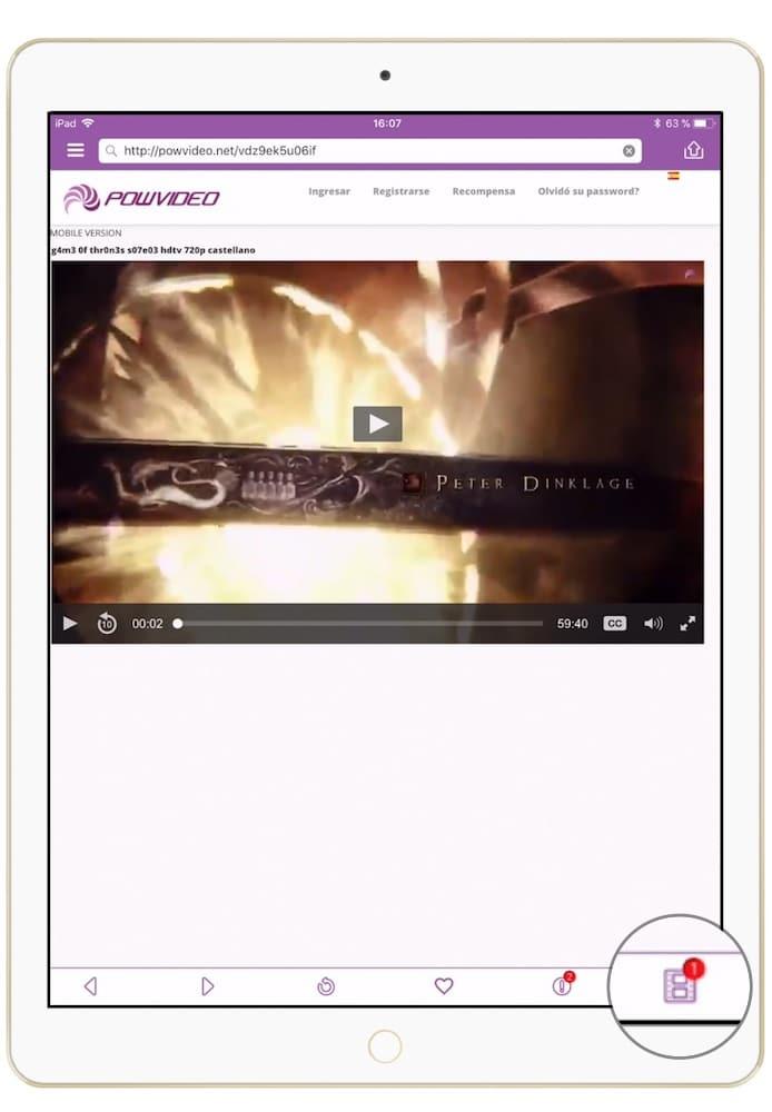 Como descargar peliculas en iPad y iPhone