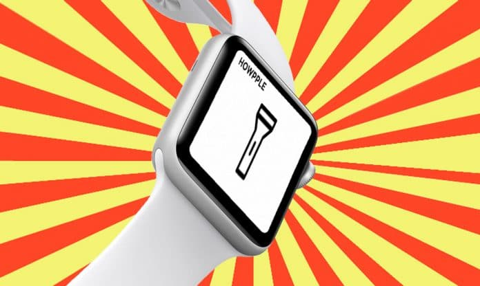 Cómo usar la linterna en el Apple Watch