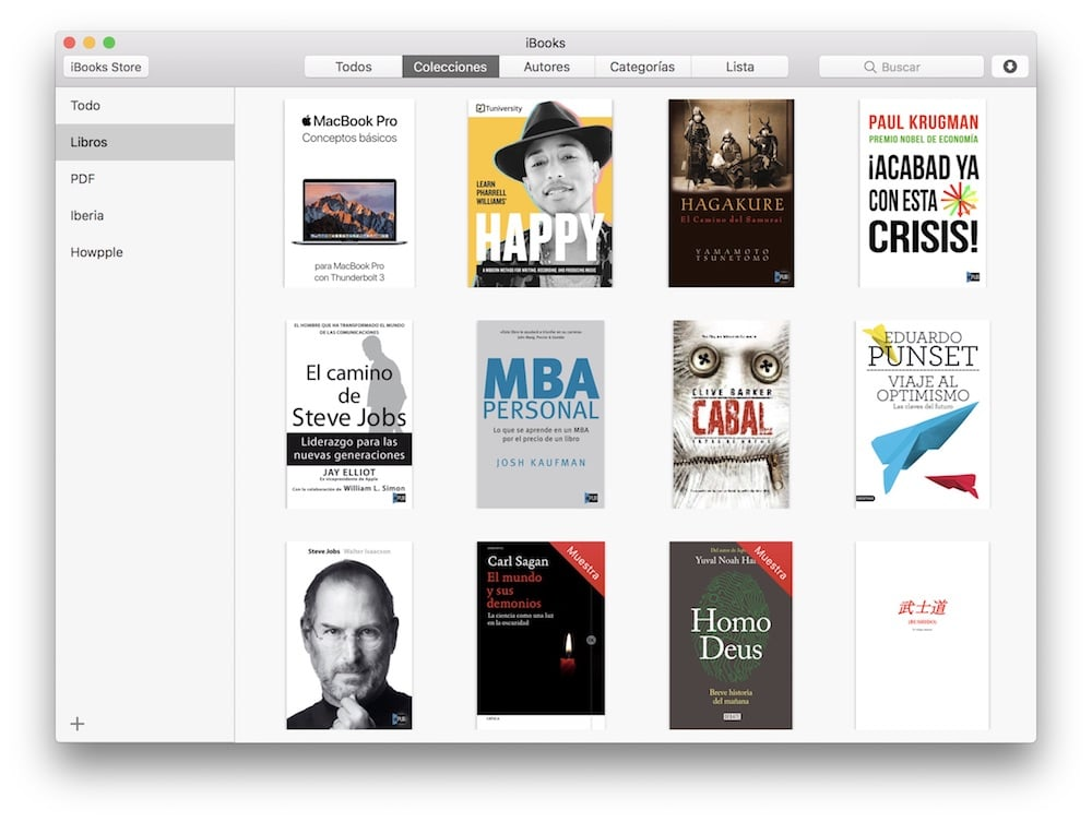 Coo encontrar la carpeta de iBooks