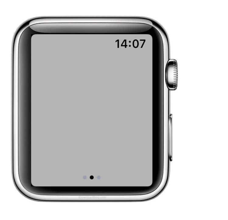 Luz intermitente de la linterna del Apple Watch