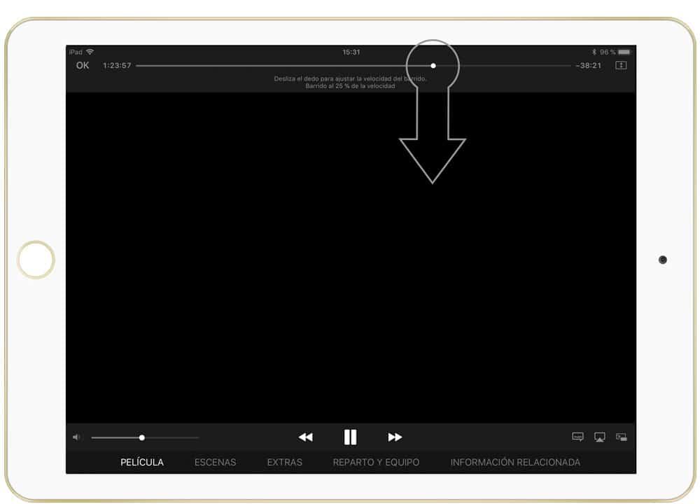 Aprende cómo velocidad de reproducción en iOS