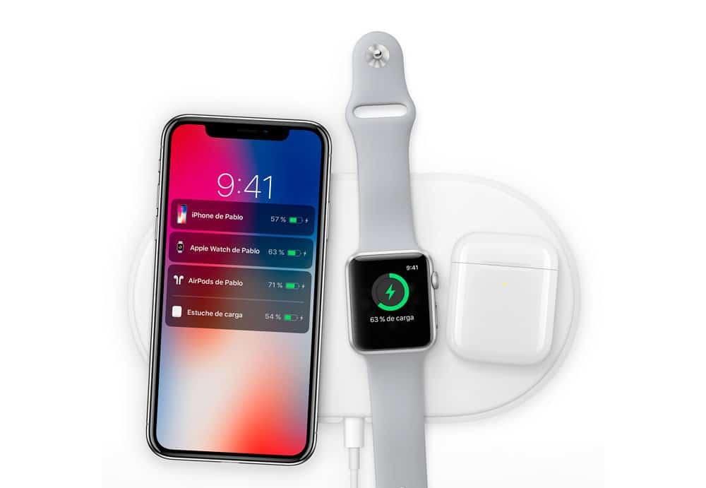 carga inalámbrica para el nuevo iPhone X