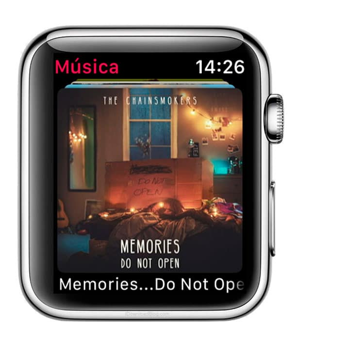 album de Apple Music en Apple Watch Series 3