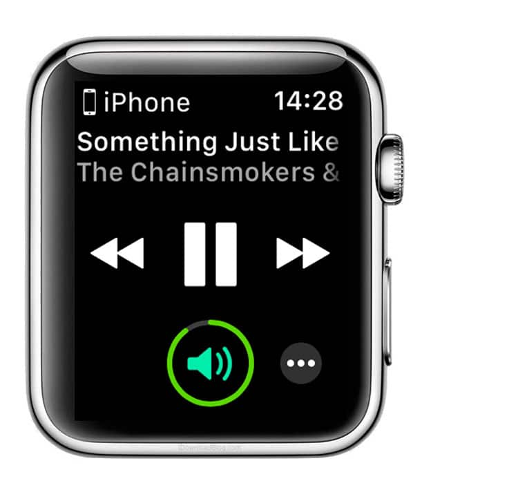 reproduciendo Apple Music en Apple Watch Series 3