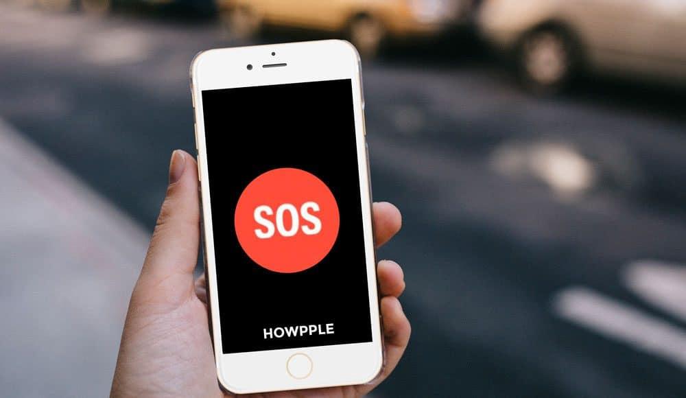 Cómo usar la llamada de emergencia en iPhone