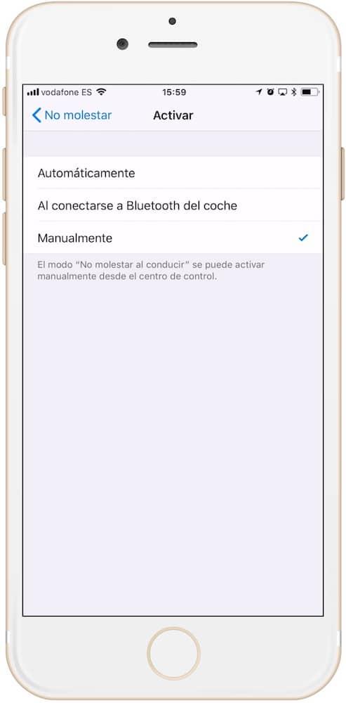 TRES maneras de activar el modo no molestar mientras conduces en iOS 11