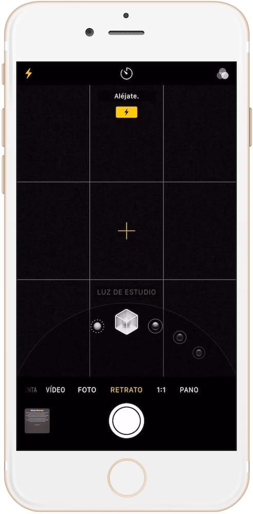 Análisis iPhone 8 PLUS de las cámaras