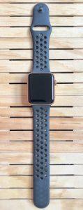 Correa Nike negra análisis Apple Watch Series 3