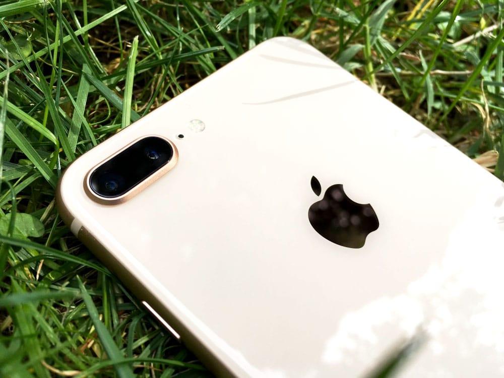 Análisis iPhone 8 PLUS detalle cámara