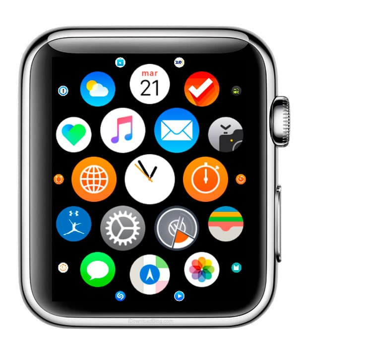 Cómo ver las aplicaciones del Apple Watch en modo lista usar Force Touch