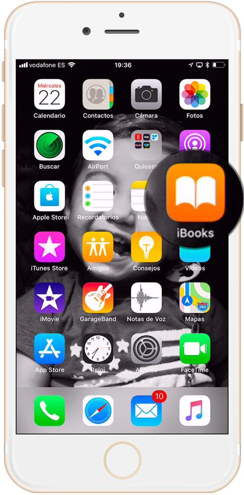 Compartir libros con en familia aplicación iBooks