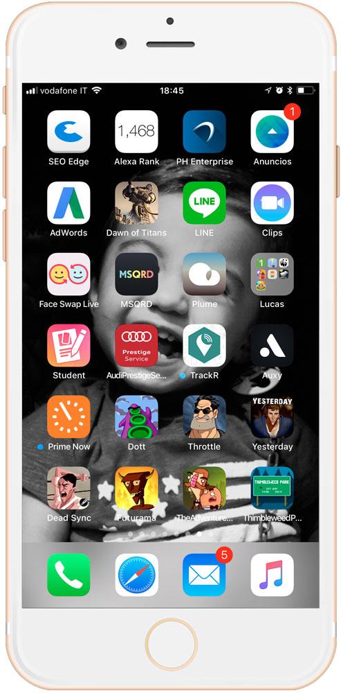 Aprende cómo crear carpetas de aplicaciones instantáneas en iOS 11