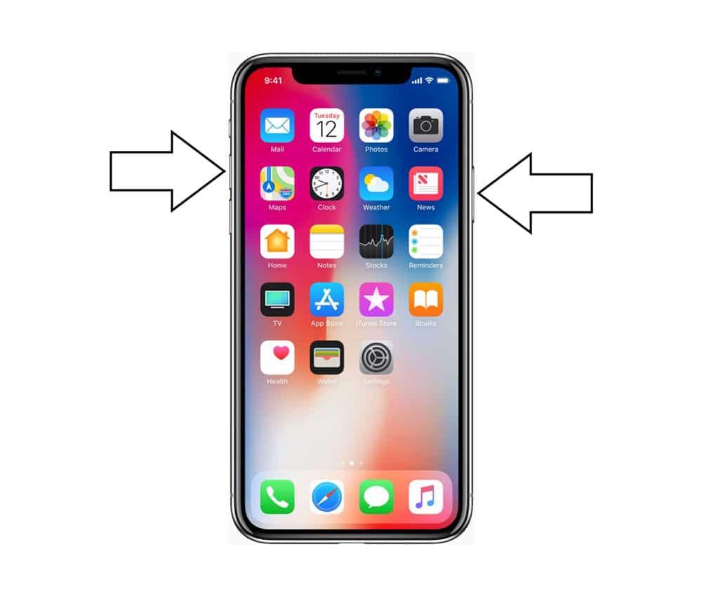 Aprende cómo hacer una captura de pantalla con iPhone X