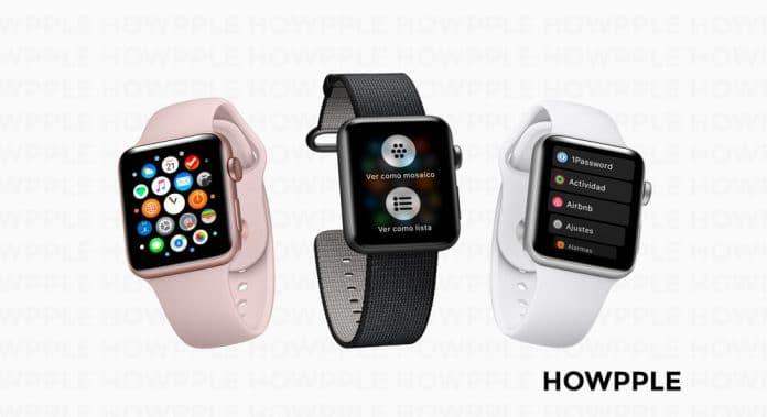 Aprende cómo ver las aplicaciones del Apple Watch en modo lista-Howpple tutoriales Apple Watch