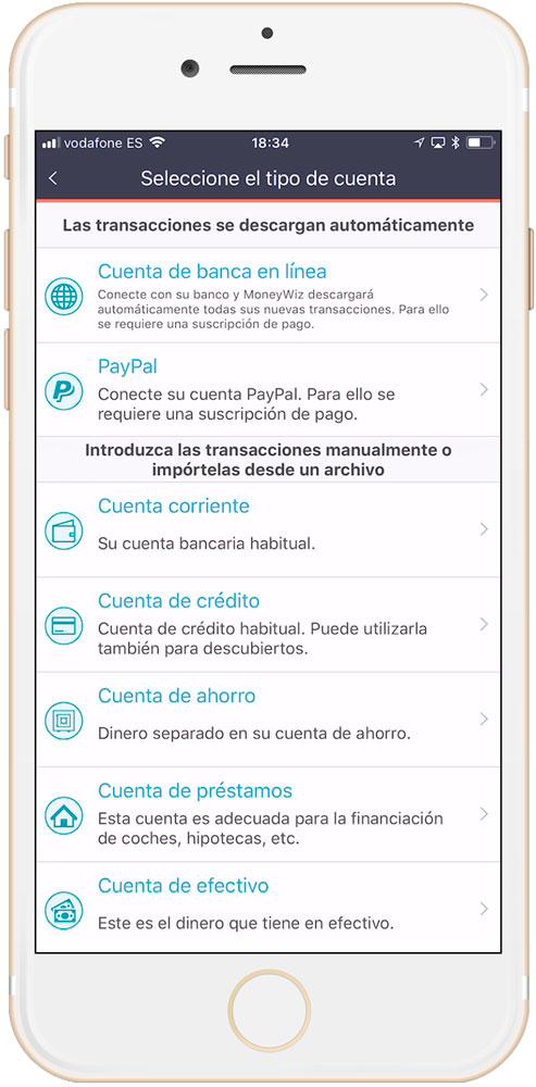 Cuentas Moneywyz es una de las CUATRO mejores aplicaciones de finanzas personales para iPhone