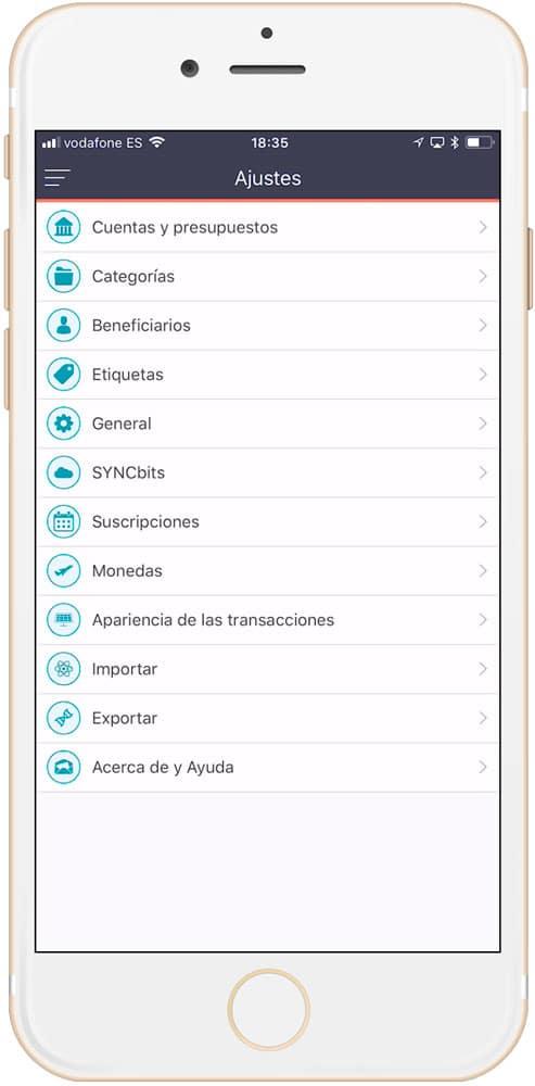 categorías Moneywyz es una de las CUATRO mejores aplicaciones de finanzas personales para iPhone