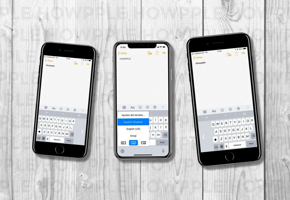 18c1e9c7907 Aprende cómo Ajustar el teclado del iPhone para escribir con una sola mano