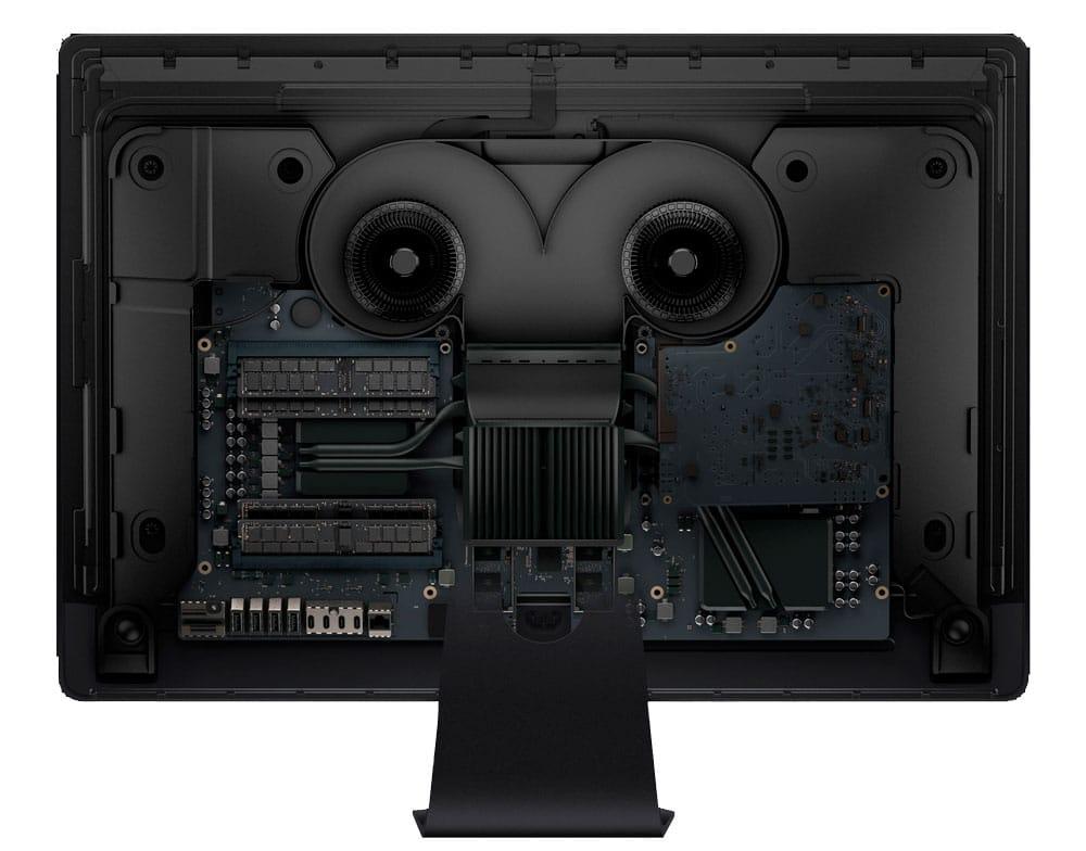 interior iMac pro