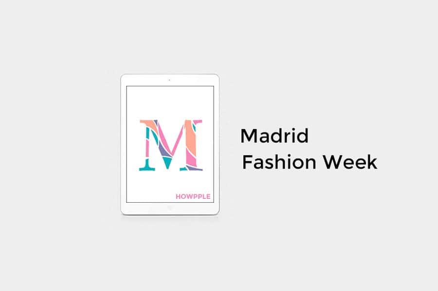 Aplicaciones de moda española fashion week
