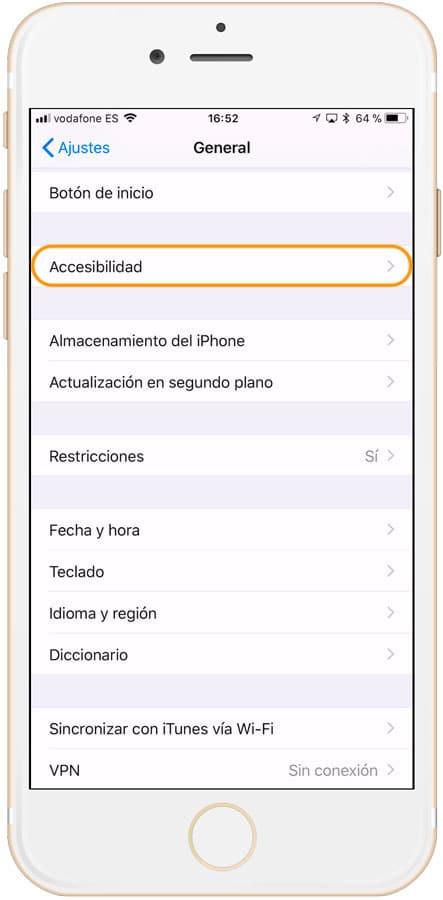 Cómo activar Siri en iPhone accesibilidad