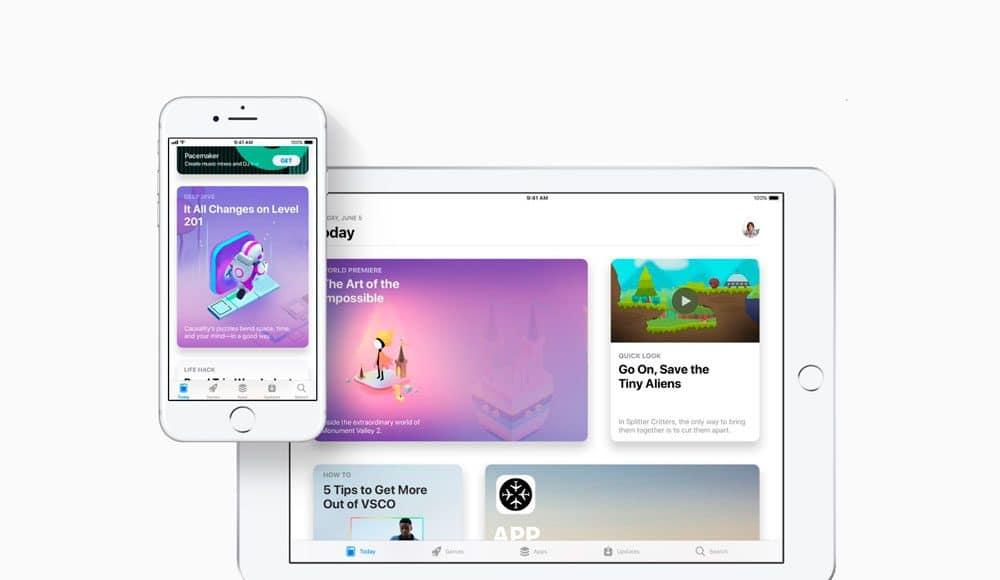 Ventas App Store navidad 2018