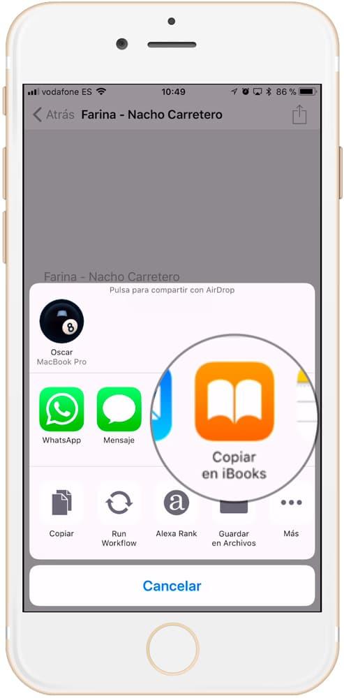 Cómo descargar libros electrónicos en iBooks