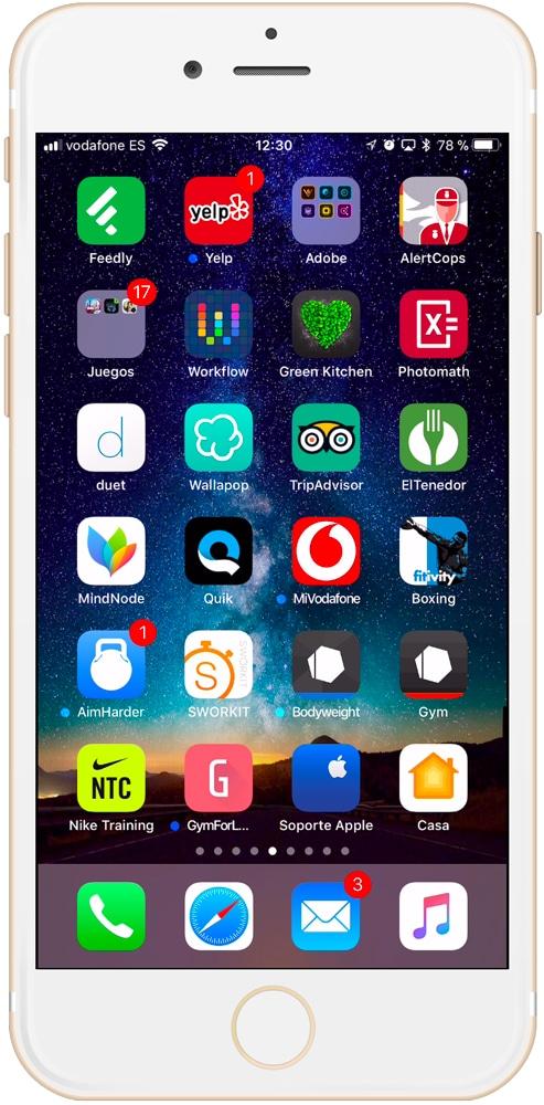 Aplicación Casa en iPhone o iPad