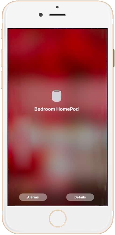 restaurar el HomePod