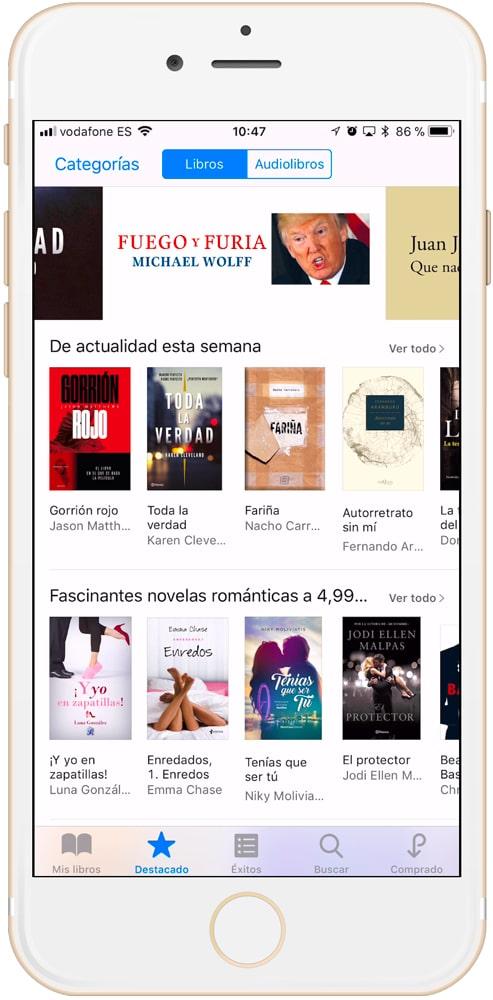 libros destacados de iBooks