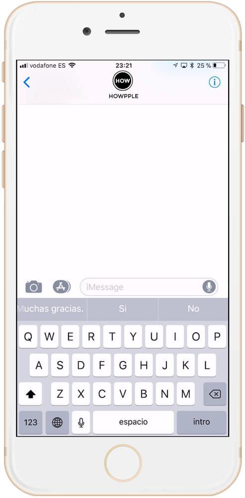 Palabra para compartir tu ubicación en mensajes de Apple