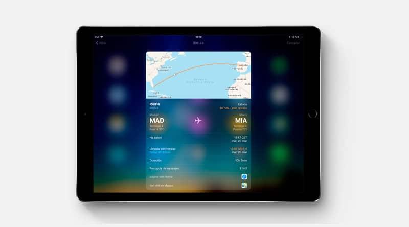 estado de vuelos en equipos Apple-info vuelos