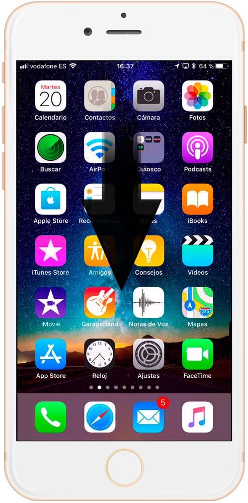 Cómo conocer el estado de vuelos en iPhone y iPad escritorio - info vuelos