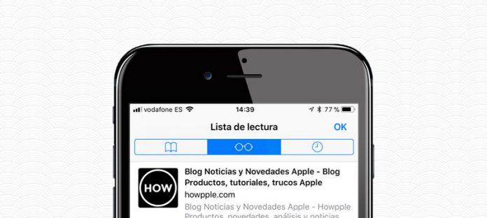 Aprende cómo ver paginas web sin conexión a interntet gracias a Lista de lectura en iOS