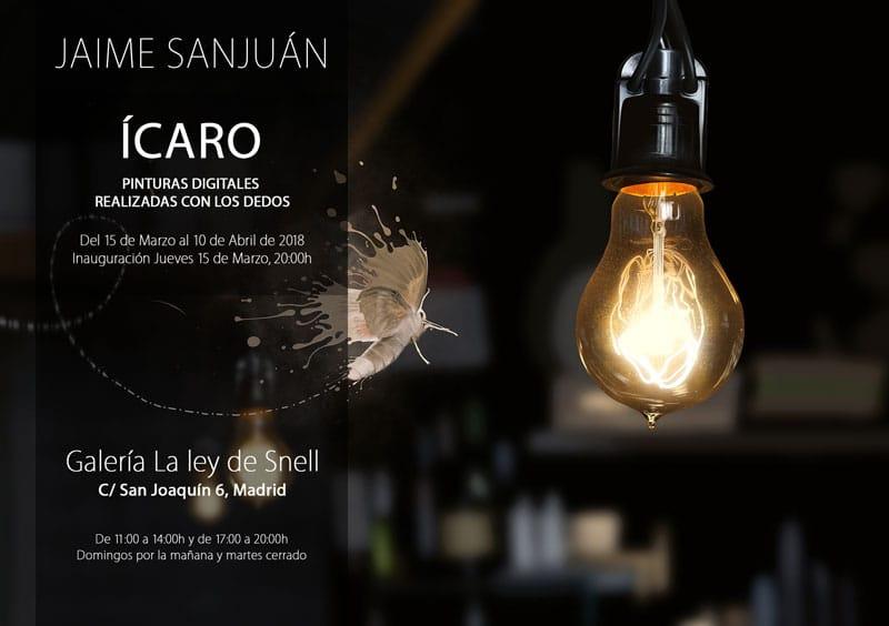 Exposicion Arte digital en iPad Jaime Sanjuán