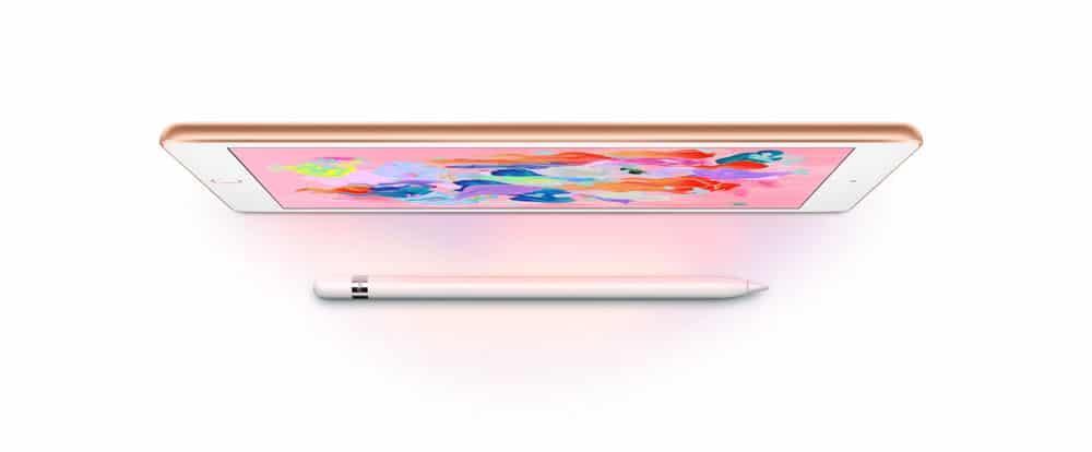 Apple Nuevo iPad 2018 para conquistar la escuela