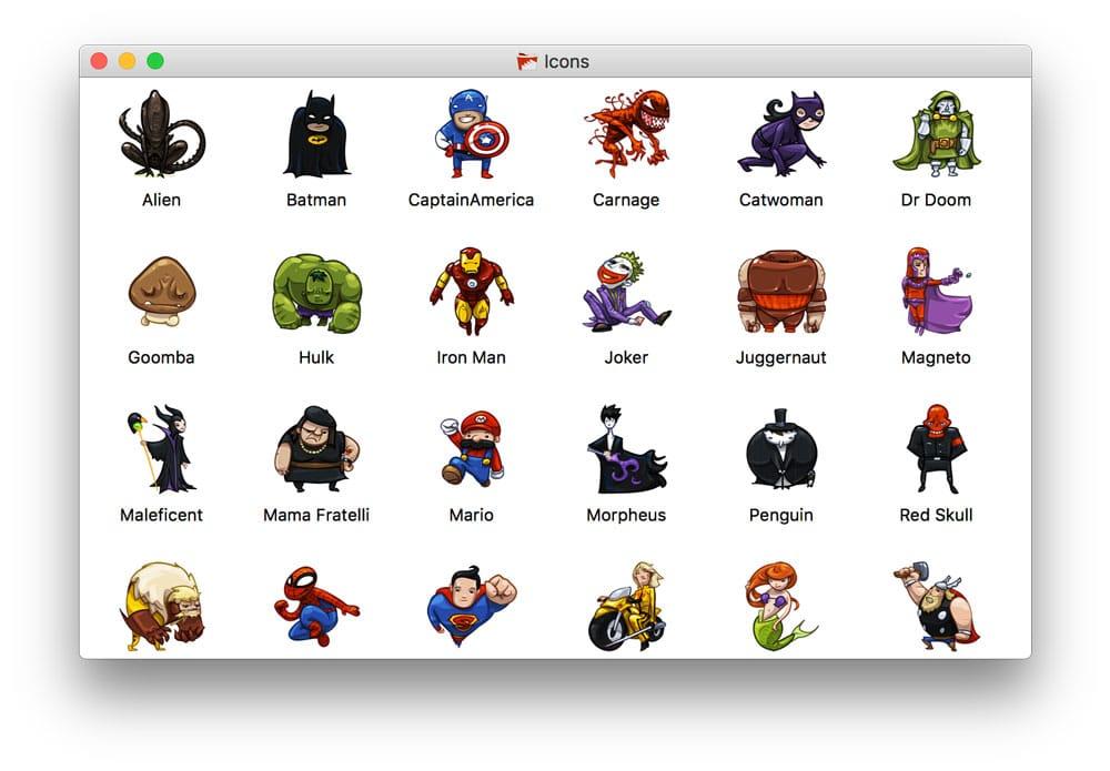 Aprende como cambiar el icono de una carpeta en mac