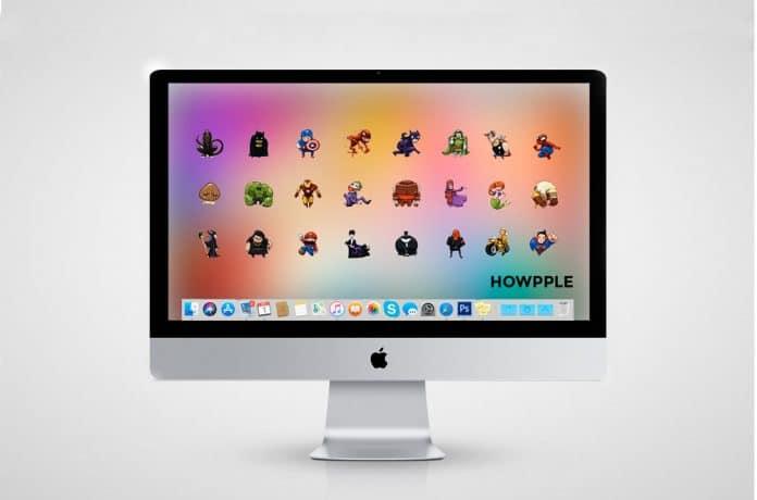 cómo cambiar el icono de una carpeta en Mac-cambiar iconos en macOS
