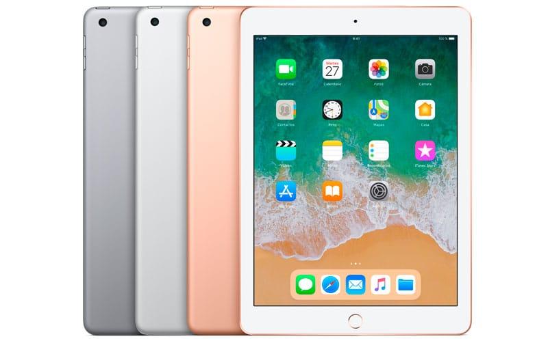 Modelos de iPad 2018