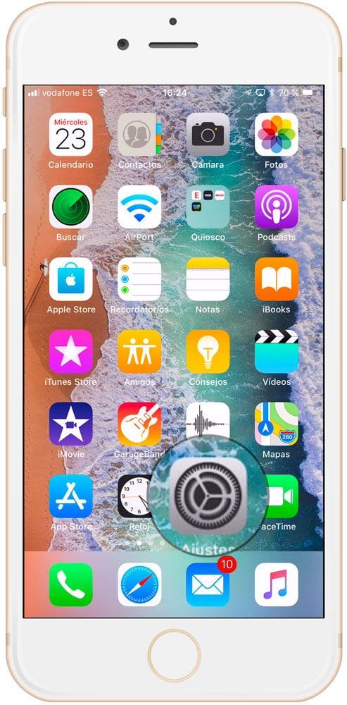 Ajustes iOS trucos iPhone